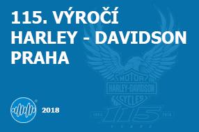 115. VÝROČÍ HARLEY - DAVIDSON