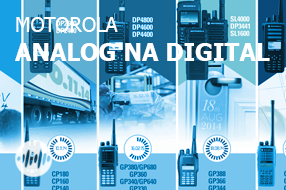 Doporučené migrace radiostanic Motorola - Analog na Digital