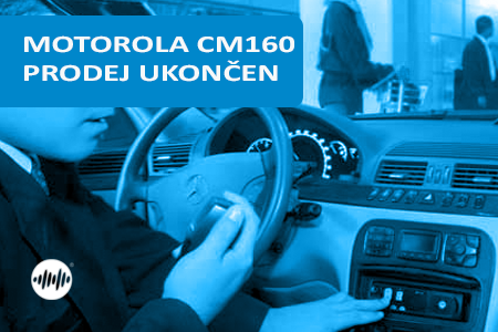 MDM50JNF9AA2AN - MOTOROLA CM160 VHF 25W - PRODEJ UKONČEN