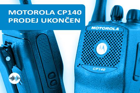 MDH65KDC9AA2AN - MOTOROLA CP140 VHF 146-174MHz - UKONČEN PRODEJ