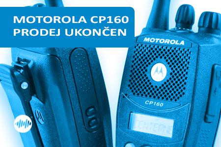 MDH65KDF9AA3AN - MOTOROLA CP160 VHF 146-174MHz - UKONČEN PRODEJ