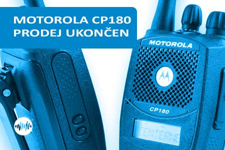 MDH65RDH9AA4AN - MOTOROLA CP180 UHF 450 MHZ - PRODEJ UKONČEN