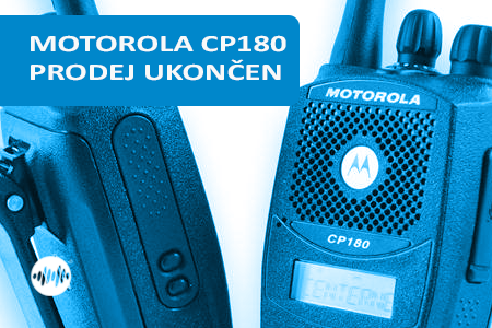 MDH65JDH9AA4AN - MOTOROLA CP180 VHF 160 MHZ - PRODEJ UKONČEN