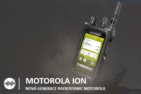RADIOSTANICE MOTOROLA MOTOTRBO ION