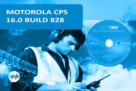 GMVN5141 - PROGRAMOVACÍ SW MOTOROLA CPS 16.0 BUILD 828