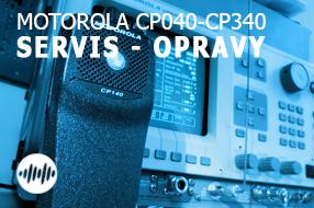 OPRAVY A SERVIS RADIOSTANIC MOTOROLA CP040 - CP180, CP340