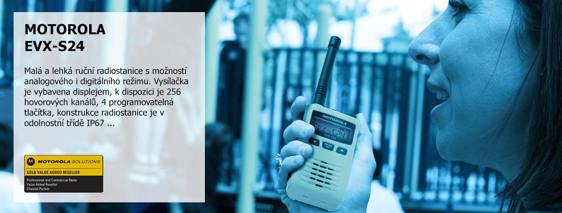Radiostanice Motorola EVX-S24