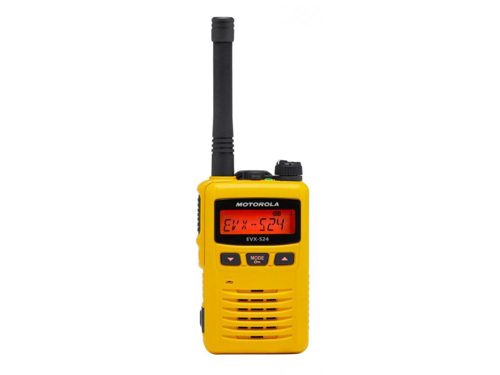 Motorola EVX S24 1 yellow