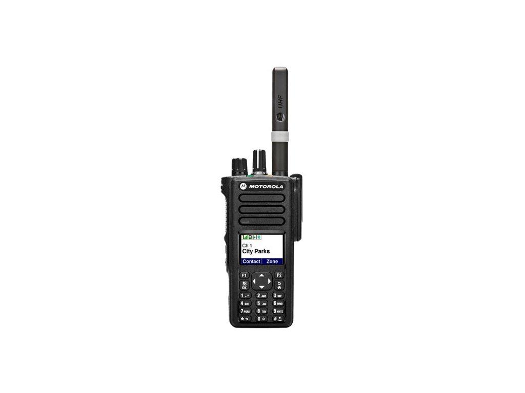 Motorola DP4801E UHF 403-527MHz 4W GPS Bluetooth Wi-Fi
