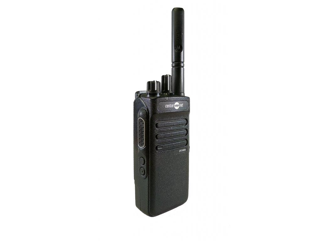 Pronájem Motorola ruční radiostanice DP2400e UHF 16kan, DIGITAL a ANALOG