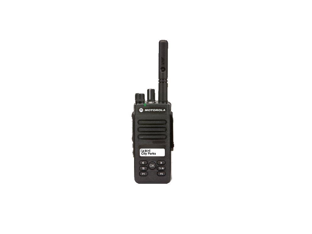 MDH02JDH9VA1AN Motorola DP2600E VHF 136-174MHz 5W DIGITAL a ANALOG