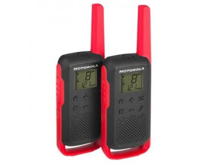 Motorola TLKR T62 cervena
