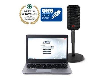 393-1100 3M™ E-A-Rfit™ Dual-Ear Ověřovací systém