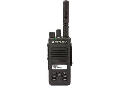Motorola DP2600E UHF vysílačky 4W DIGITAL a ANALOG I MDH02RDH9VA1AN