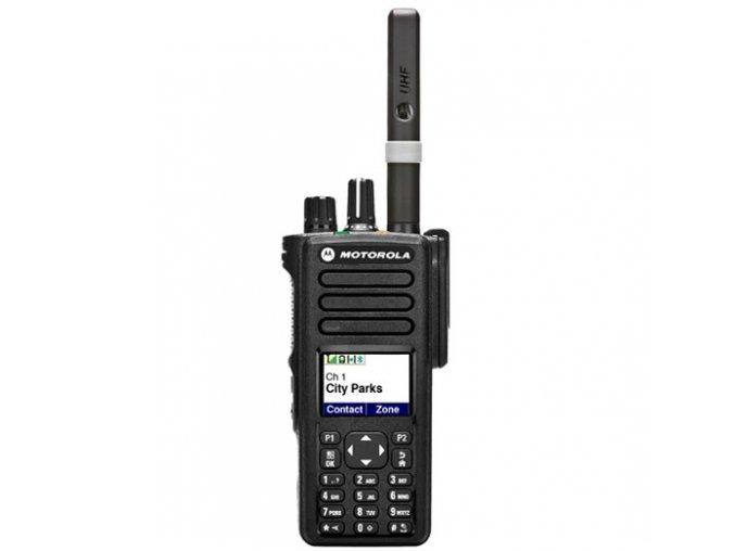 Motorola DP4801E VHF 136-174MHz 5W GPS Bluetooth Wi-Fi
