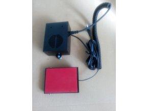 Externí ovládáni radiostanice pro jeřábníky