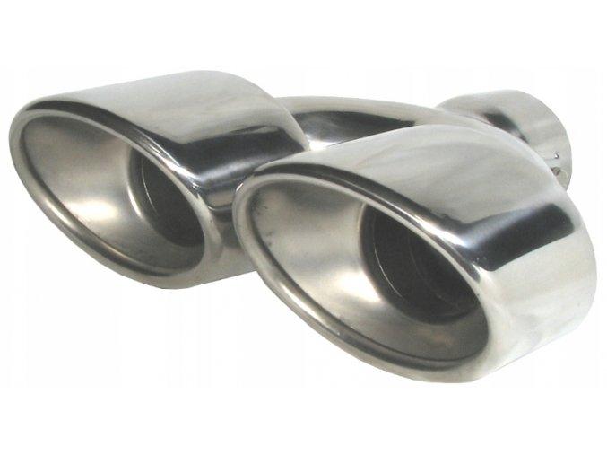 INOX 3010 Koncovka výfuku 190x215x75mm