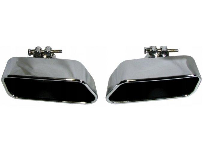INOX 75456 Koncovka výfuku L+P 89x185x76mm BMW 5 F10 M-PERFORMANCE