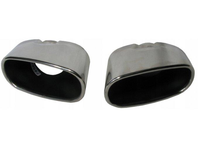INOX 77565 Koncovka výfuku L+P 135x141x77mm BMW X5 E70 (06-13)