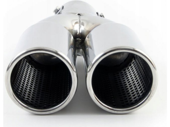 INOX 0963 Koncovka výfuku 225x130x63mm dyfuzor BASS