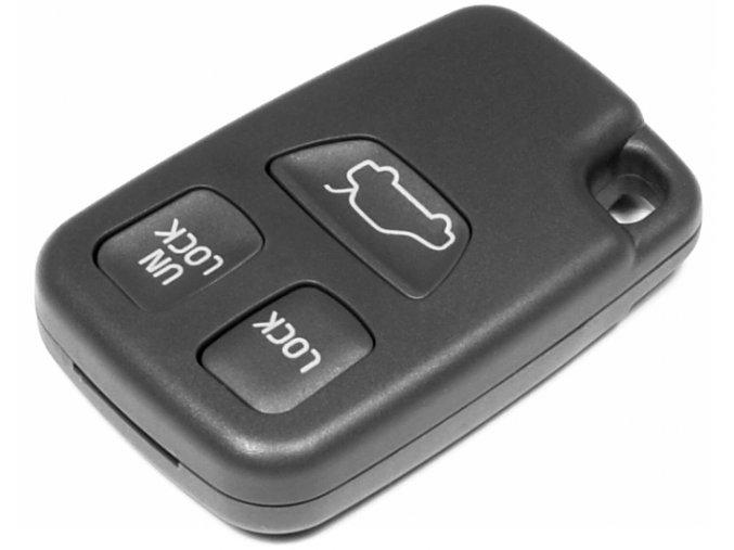 Náhradní obal klíče 3-tlačítkový, VOLVO S40 S60 V40 V70 C70