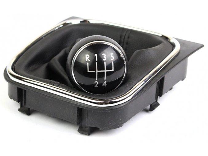 Řadící páka s manžetou Volkswagen VW GOLF V 5 VI 6 JETTA, 5st.
