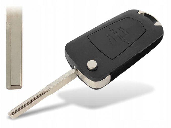 Náhradní obal klíče 2-tlačítkový OPEL SIGNUM VECTRA C (HU43)