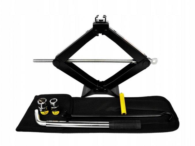 SUV 2T Zvedák nůžkový + klíč - SADA
