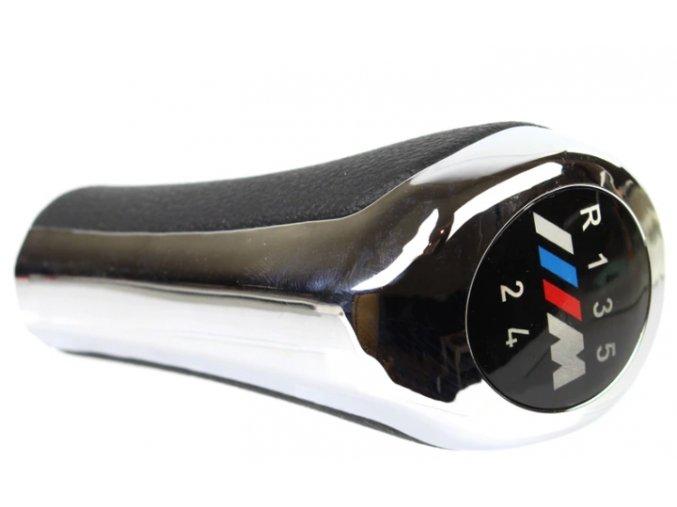 Hlavice řadící páky BMW E60 E87 E90 X3 X5 M POWER M paket, 5st. 6st.
