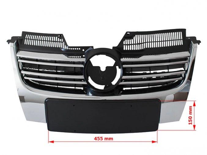 Přední maska VW Jetta 2005-2010
