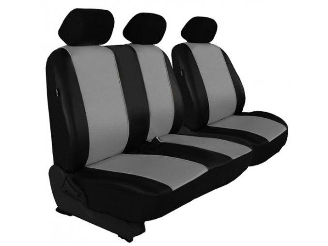 Autopotah Auto-dekor (kožené) 2+1  FIAT DUCATO - Různé barvy