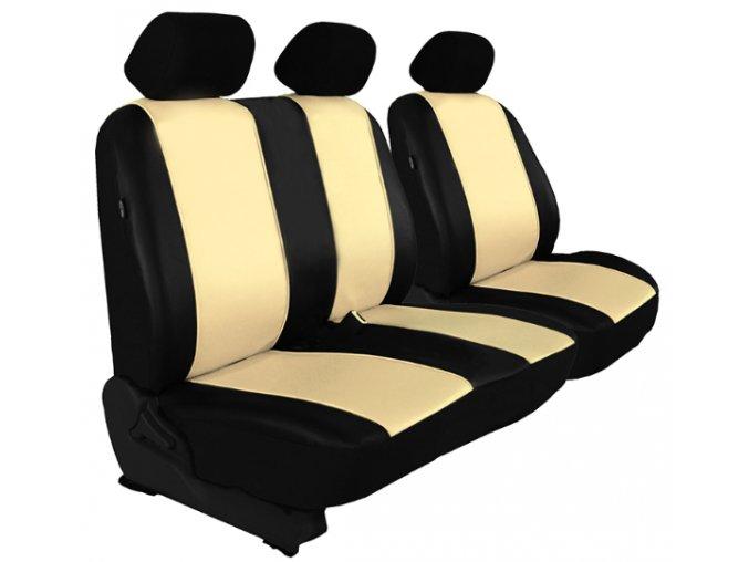 Autopotah Auto-dekor (kožené) 2+1 IVECO DAILY - Různé barvy
