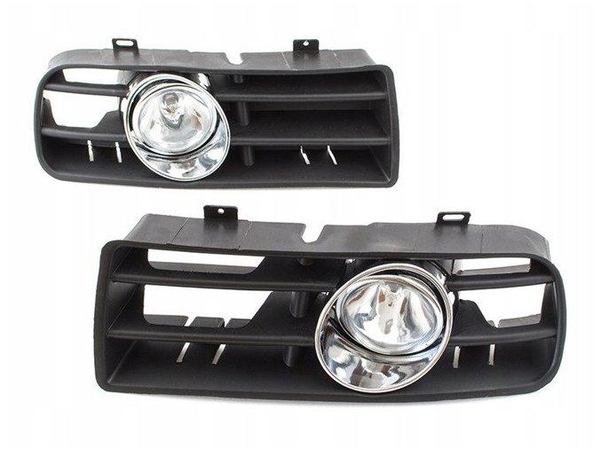 Mlhové světlomety + mřížky předního nárazníku (L+P sada) VW GOLF IV 4