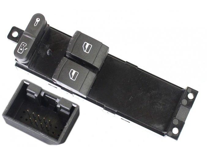 VW JETTA BORA GOLF PASSAT Spínač na stahování oken - 1J3959857 / 000051039010
