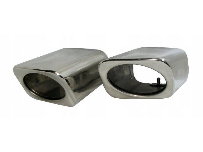INOX 74022 Koncovka výfuku L+P 173x119x75mm Mercedes GLK X204