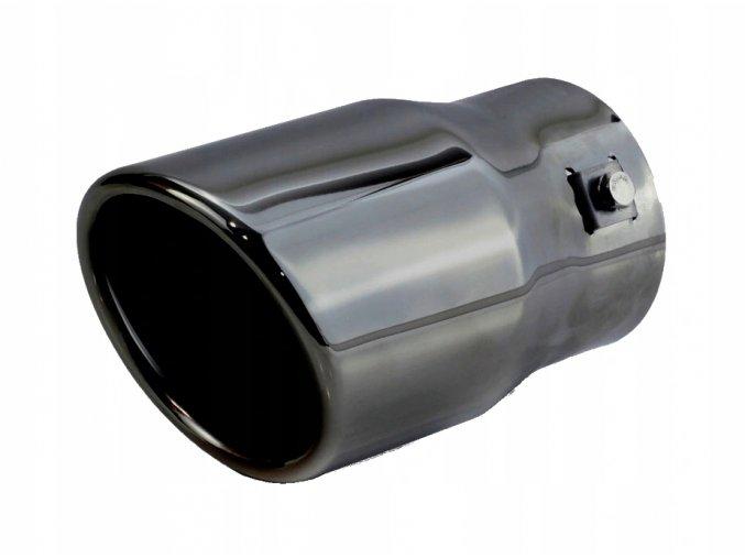 INOX MT007BC Koncovka výfuku 150x90mm - ŠEDÁ