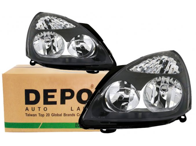 Přední světla RENAULT CLIO 2 L+P DEPO