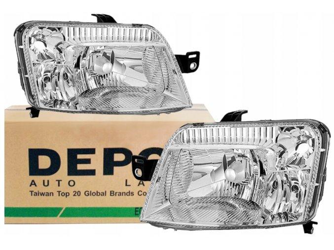 Přední světla FIAT PANDA (09.03-) L+P DEPO