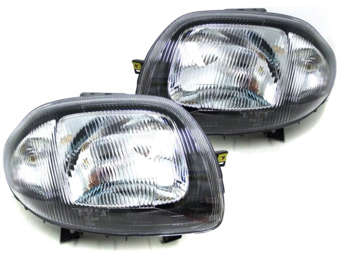 Přední světla RENAULT CLIO 2 (98-01), THALIA (99-02) L+P DEPO