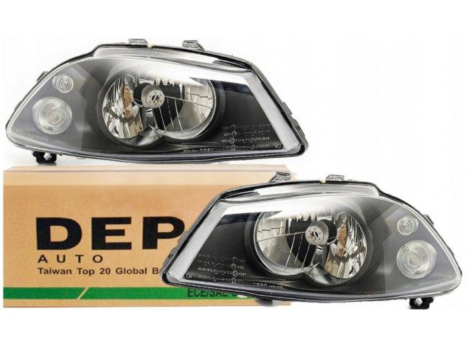 Přední světla SEAT IBIZA III 6L, CORDOBA (02-09) L+P DEPO