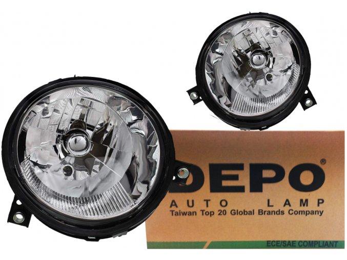 Přední světla VW LUPO (98-05) L+P DEPO