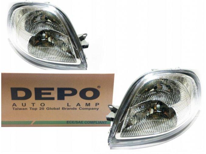 Přední světla OPEL MOVANO (03-10) L+P DEPO