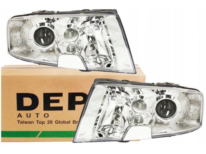 Přední světla Škoda SUPERB (02-08) L+P DEPO