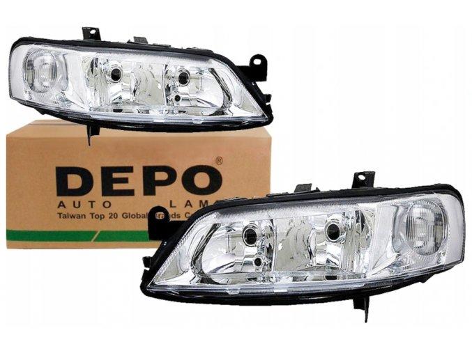 Přední světla Opel Vectra B (99-02) L+P DEPO