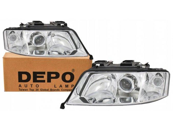 Přední světla AUDI A6 C5 LIFT (00-05) L+P DEPO