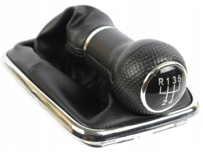 Řadící páka s manžetou Volkswagen VW GOLF IV BORA 23mm, 5st.