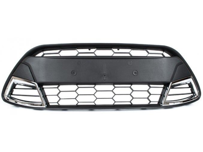 MŘÍŽKA PŘEDNÍHO NÁRAZNÍKU SPORT, STŘED Ford Fiesta Mk7 (2008-2011)