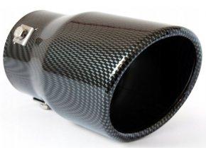INOX MT007C Koncovka výfuku 150x90x90mm (carbon)