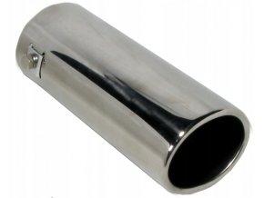 INOX 77597 Koncovka výfuku 158x68x60mm