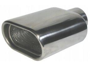 INOX 70498 Koncovka výfuku 175x120x70mm